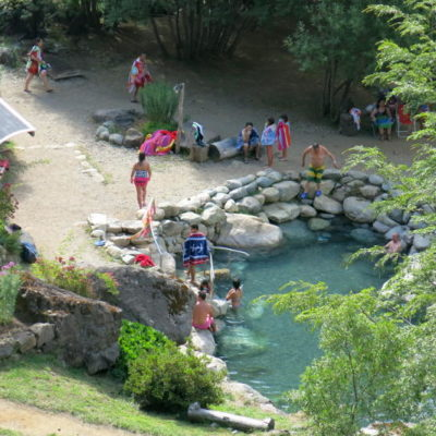 Los Pozones, Chile hot springs