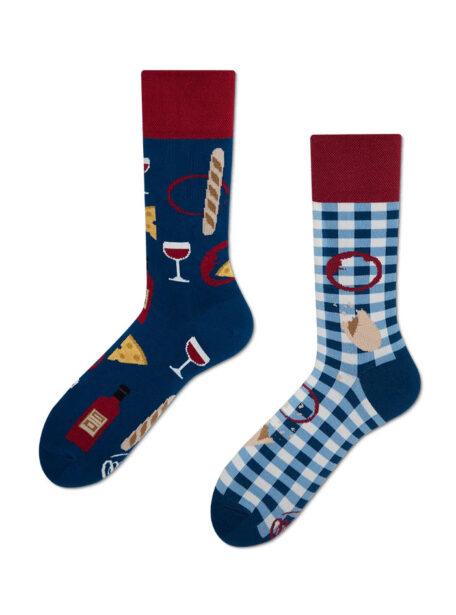 Tolle Socken Bonjour France MM