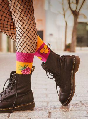 HONIG und HIMBEEREN Socken