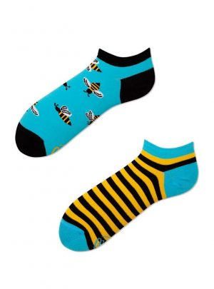 Bunte Socken Bee low