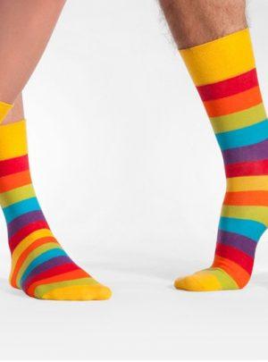 bunte soken regenbogen spoxsox