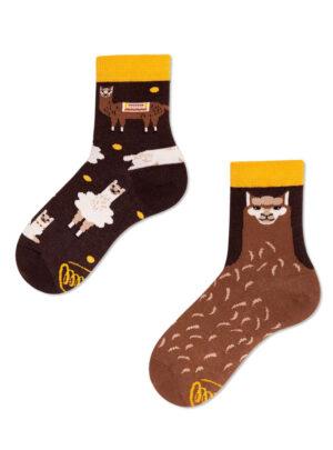 HERZIGE ALPAKAS Socken Kids