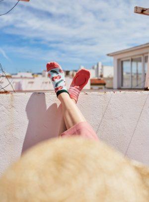 Bunte Socken Frutti Di Mare Sneakers