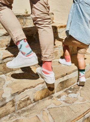 frutti di mare bunte Socken