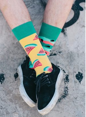 watermelon Socken regular