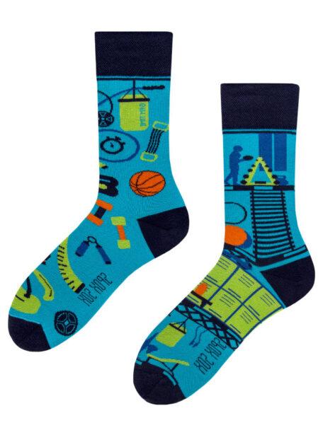 Fitness-bunte lustige Socken Spox-Sox