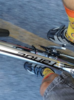 Lustige Biker Socken