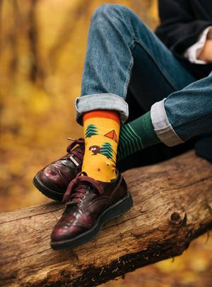 Camping -lustige Socken
