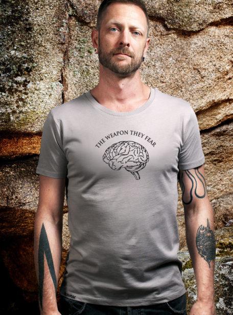 Herren Opal Shirt von Awear- The Weapon They Fear- coole Motive