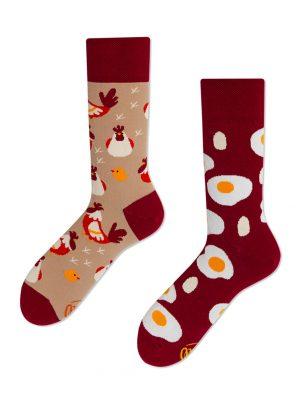 Huhn und Spiegelei Socken Many Mornings