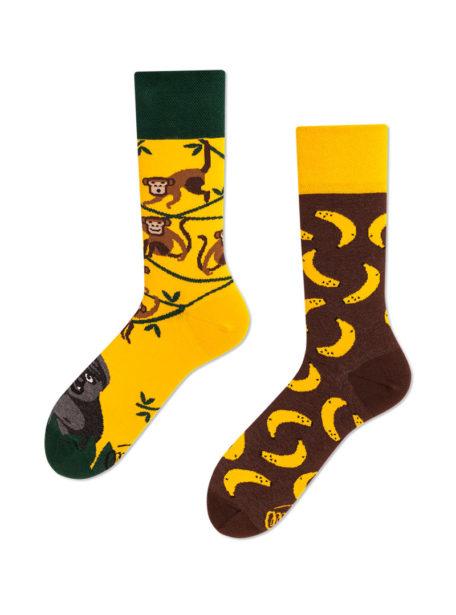 Lustige Socken Affen- Monkey Business