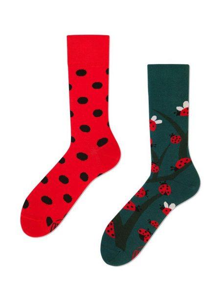Marienkaefer Socken- lustiges Geschenk