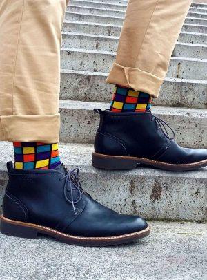 bunte Wuerfel Socken senzaconfini