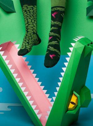 KROKODIL Sneaker Socken