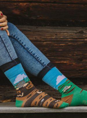 Maulwurf Socken- fair einkaufen bewusst leben