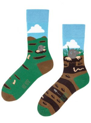 Maulwurf und Freunde faire Socken