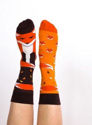 Schlaue Fuechse Socken Nanushki