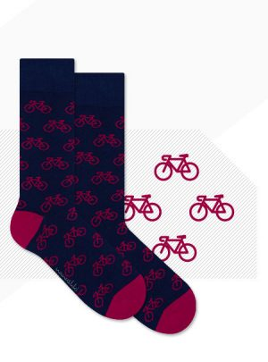 Fahrrad Socken die rocken