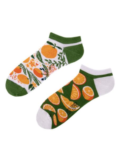 Koestliche Orangen Socken