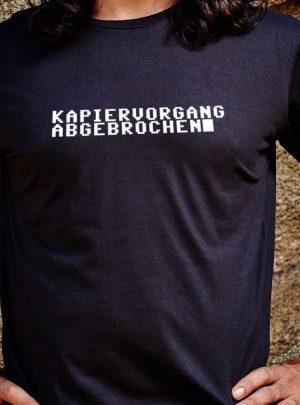 Kapiervorgang abgebrochen Herren T-Shirt von awear Wien
