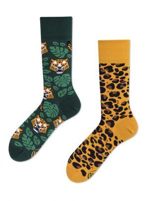 Lustige Leoparden Socken