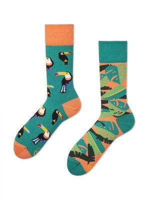Papagei Socken
