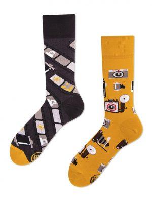 Retro-Kamera Socken