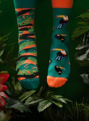 Bunte TUKAN Socken