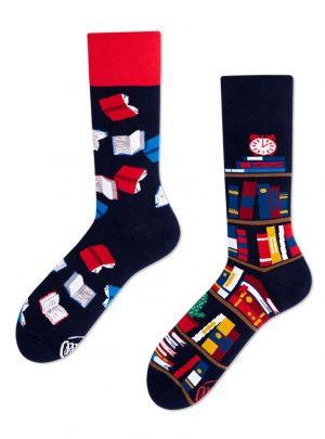 Buecherwurm Socken