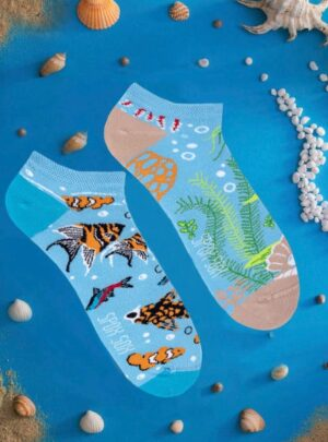 Aquarium Sneaker Socken Spox Sox