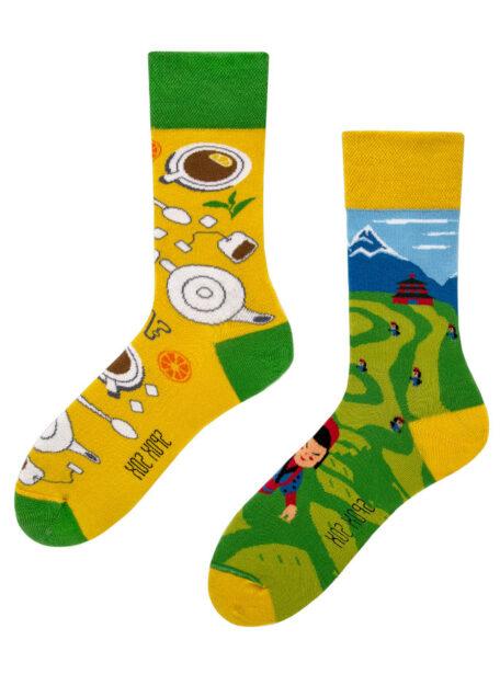 Ausgefallene Teeliebhaber Socken Spox Sox