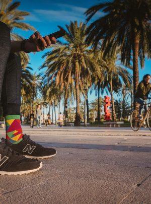Hundertwassers Socken-Spox-Sox