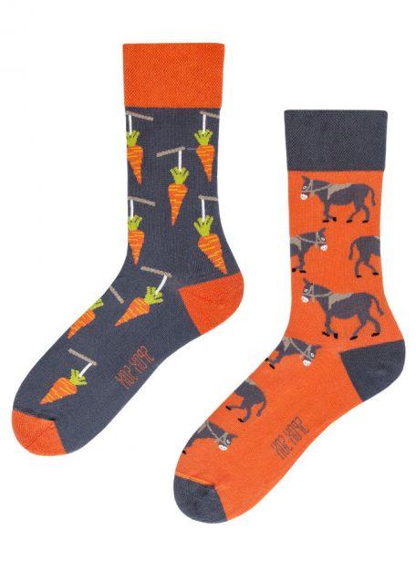 lustige Esel und Karotte Socken-Spox-Sox
