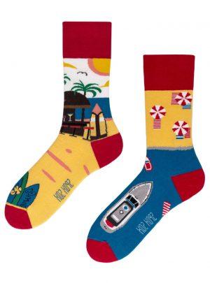 lustige Sommerparadies Socken Spox-Sox