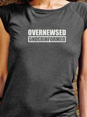 overnewsed Damen Shirt