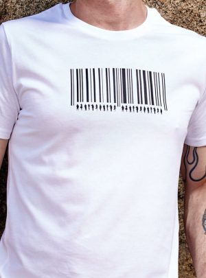 Barcode Bio T-Shirt Herren