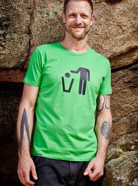 Binhead Herren Bio Tee Green