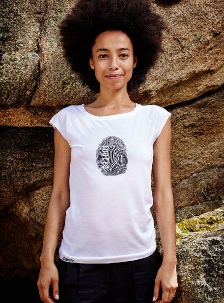 Fingerprint Damen Shirt awear