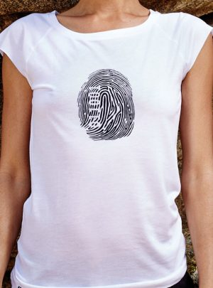 Fingerprint Damen T-Shirt