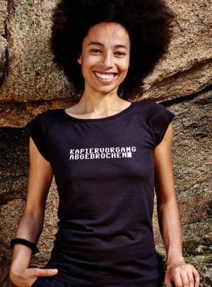 Kapiervorgang abgebrochen - awear T-Shirts- Tee Damen schwarz