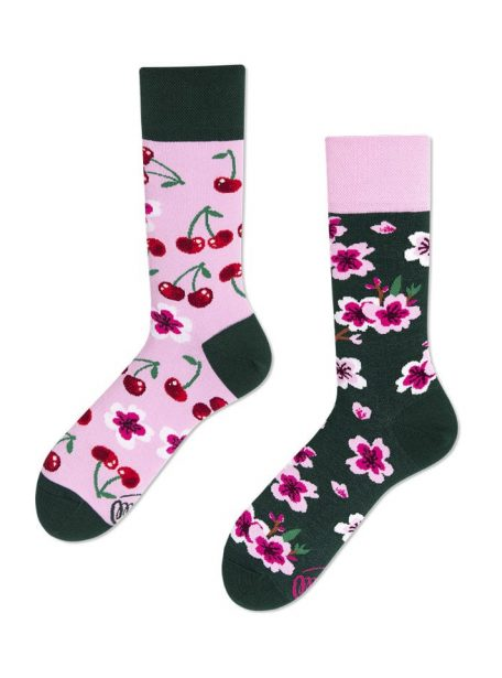 Leckere Kirschen Socken-many mornings Socken