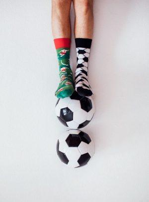 Lustige Fussball Socken