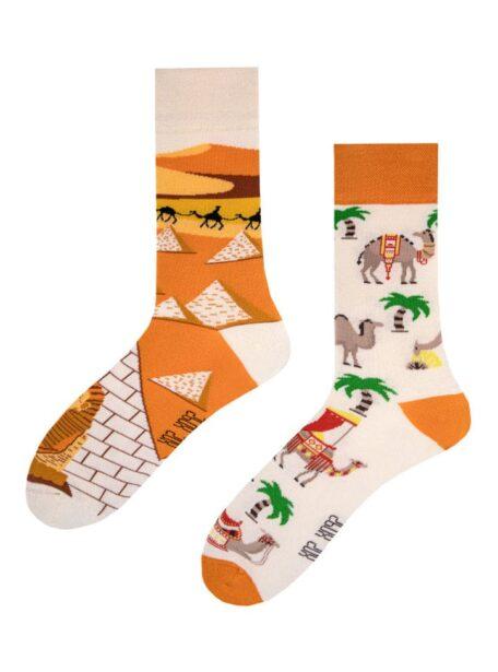 Pharaonen, Pyramiden und Kamel Socken Spox Sox