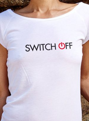 SWITCH OFF Damen Bio T-Shirt