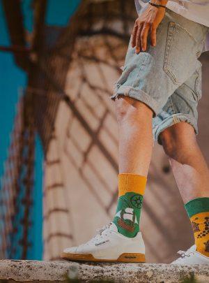 ABENTEUER und ENTDECKER Socken