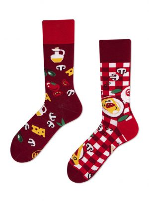 Pizza Italiana ManyMornings Socken