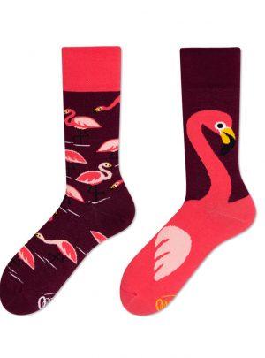 Flamingo Socken - bunte lustige Socken