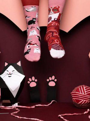 VERSPIELTE KATZEN Socken