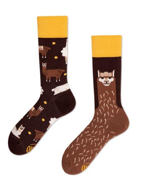 Fluffy Alpaca - Socken Many Mornings