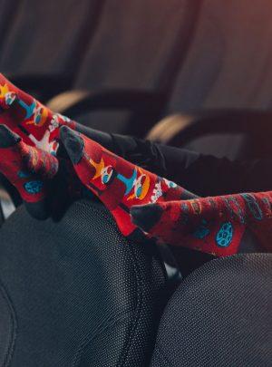 Spox Sox bunte Kino Socken